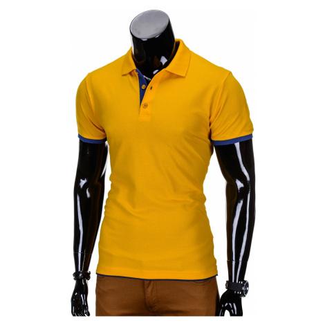 Ombre Clothing Men's plain polo shirt S758