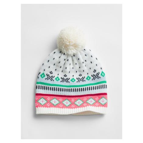GAP kolorowa czapka damska