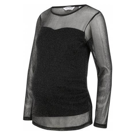 Dorothy Perkins Maternity Koszulka srebrny / czarny