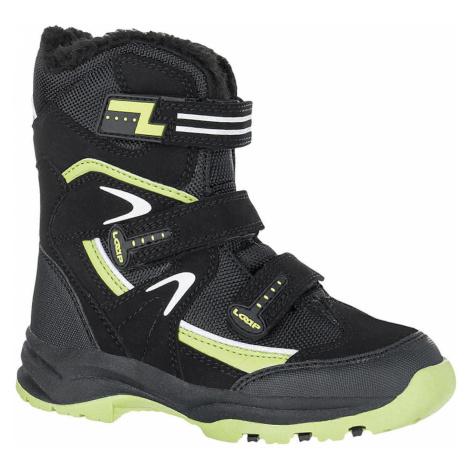 Dziecięce buty zimowe MAREO czarne LOAP