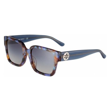 Tory Burch Okulary przeciwsłoneczne gołąbkowo niebieski / karmelowy / czarny