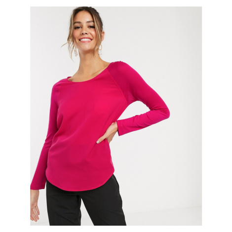 French Connection Classic Crepe long sleeved t-shirt