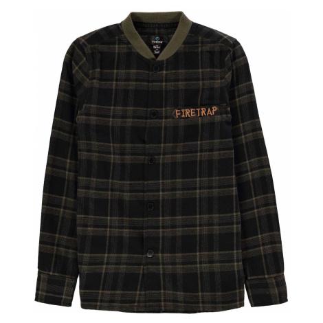 Firetrap Check Shirt Junior Boys