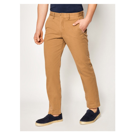Polo Ralph Lauren Spodnie materiałowe Bedford 710767328 Beżowy Straight Fit