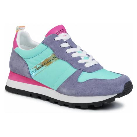 Sneakersy GUESS - Ariel FL6ARI FAB12 AQUA