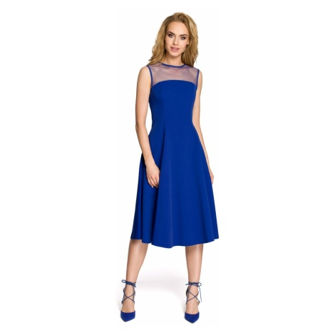 Made Of Emotion Woman's Dress M271 Royal