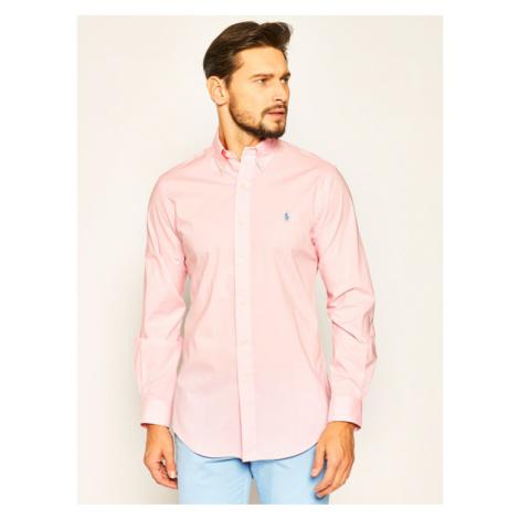 Polo Ralph Lauren Koszula Classics 710784282 Różowy Custom Fit