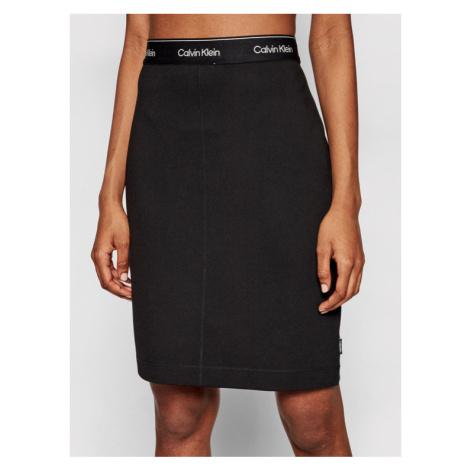 Calvin Klein Spódnica mini K20K202592 Czarny Slim Fit
