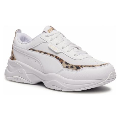 Sneakersy PUMA - Cila Mode Leo 373217 02 White/White/Puma Team Gold