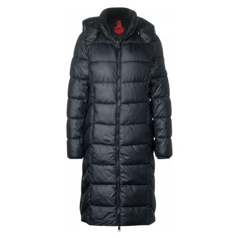 STREET ONE Płaszcz zimowy kobalt niebieski