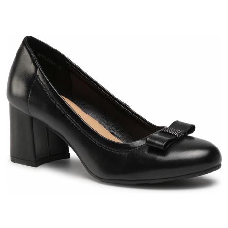 Półbuty CLARA BARSON - WYL2501-1 Black