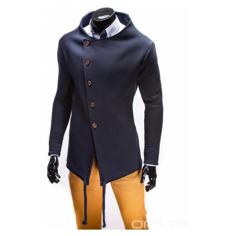 Ombre Clothing Men's buttoned sweatshirt B310