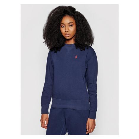 Polo Ralph Lauren Bluza Seasonal 211794395 Granatowy Regular Fit