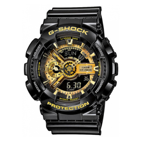 G-Shock Zegarek GA-110GB-1AER Czarny Casio