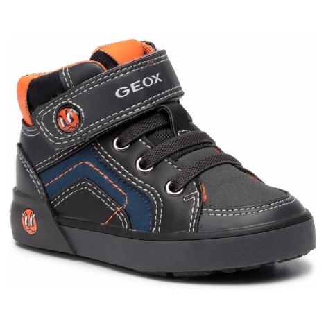 Sneakersy GEOX - B Kilwi B. D B94A7D 054FU C0062 M Dk Grey/Black