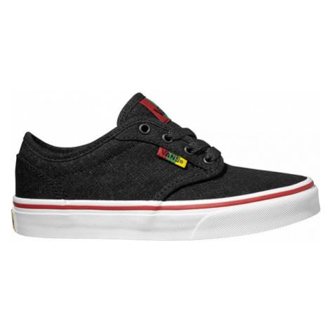 Vans YT ATWOOD Rasta Black/Red czarny 3 - Tenisówki dziecięce