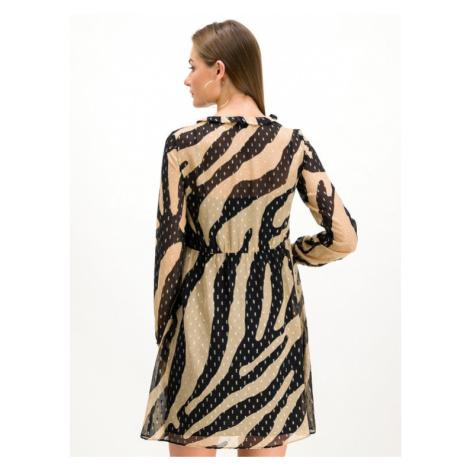Pennyblack Sukienka codzienna Meditare 12242219 Beżowy Regular Fit