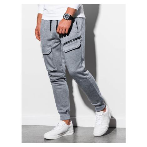 Spodnie dresowe męskie Ombre P905