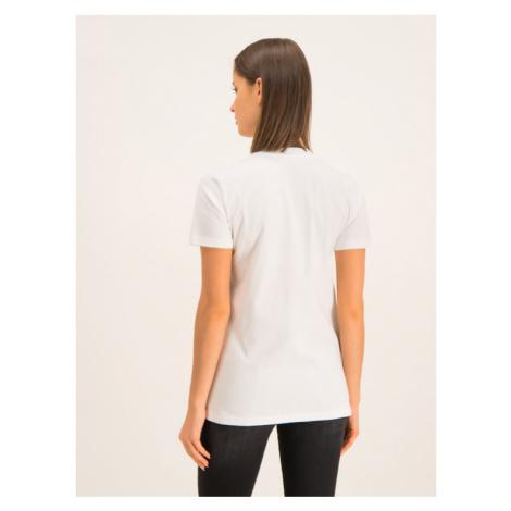 Diesel T-Shirt T-Sily-ZE 00S2NQ 0PATI 100 Biały Regular Fit