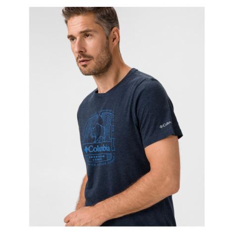 Columbia Bluff Mesa Koszulka Niebieski
