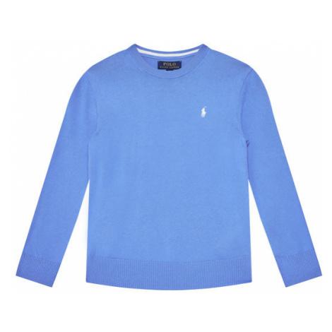Polo Ralph Lauren Sweter Classics 323799887018 Niebieski Regular Fit
