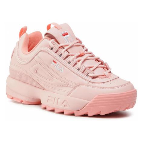 Fila Sneakersy Disruptor Low Wmn 1010302.72X Różowy
