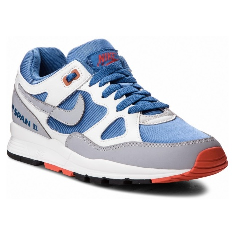 Buty NIKE - Air Span II AH6800 400 Mountain Blue/Wolf Grey