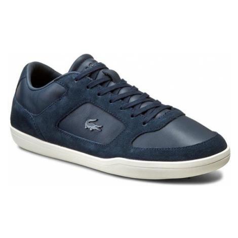 Lacoste Sneakersy Court-Minimal 316 1 7-32CAM0053003 Granatowy