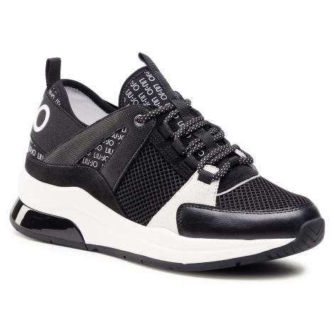 Sneakersy LIU JO - Karlie 55 BA1011 EX085 Black 22222