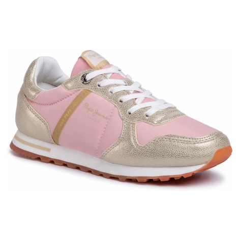Sneakersy PEPE JEANS - Verona W Mix PLS30983 Gold 099