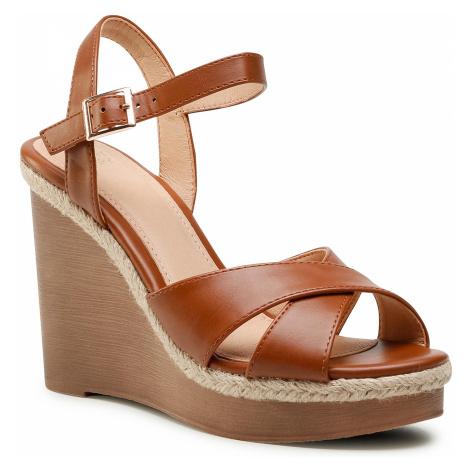 Sandały JENNY FAIRY - LS5519-01 Brown