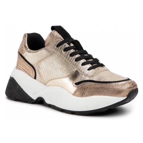 Eva Minge Sneakersy EM-18-07-000632 Złoty