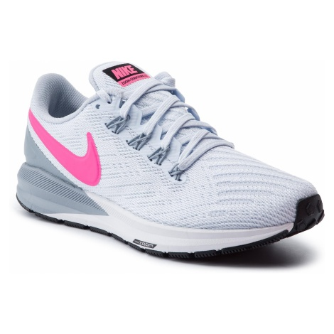 Buty NIKE - Air Zoom Structure 22 AA1640 402 Half Blue/Hyper Pink