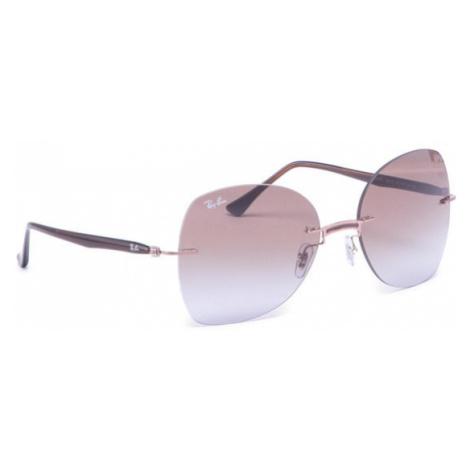 Ray-Ban Okulary przeciwsłoneczne 0RB8066 155/68 Brązowy