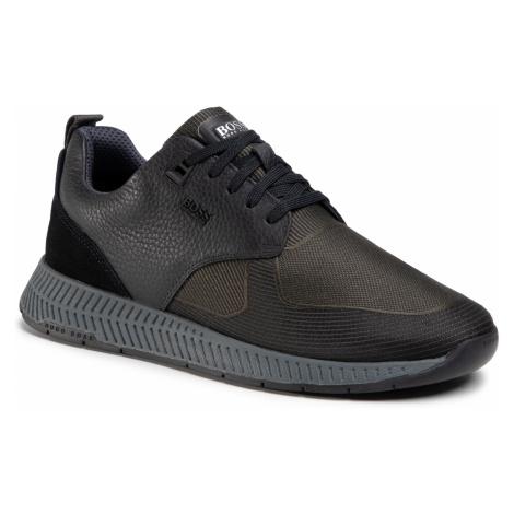 Sneakersy BOSS - Titanium 50446667 10232903 01 Dark Green 301 Hugo Boss
