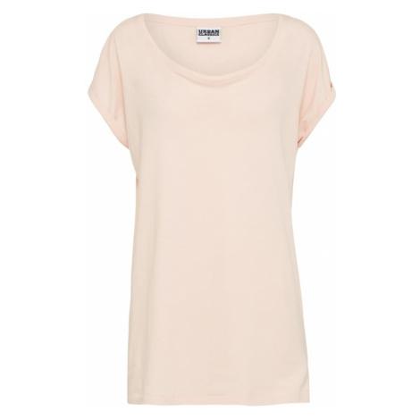 Urban Classics Curvy Koszulka 'Extended Shoulder' różowy pudrowy