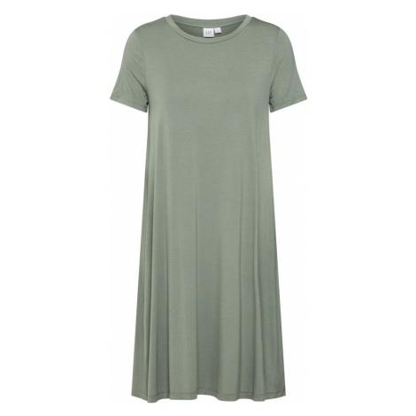GAP Sukienka 'V-SS RAYON' zielony