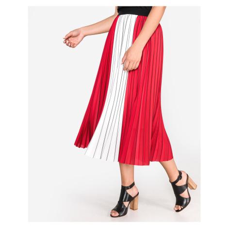 Guess Savina Spódnica Czerwony