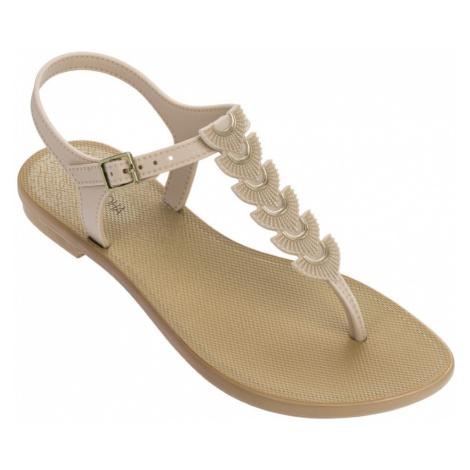 Grendha beżowe japonki Glamorous Sandal Beige/Beige