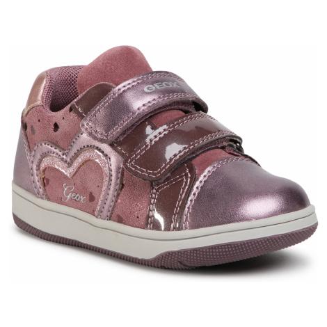 Sneakersy GEOX - B N.Flick G. A B041HA 007NF C8006 S Dk Pink