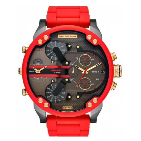 Zegarek DIESEL - Mr. Daddy 2.0 Chronograph DZ7430 Red/Black