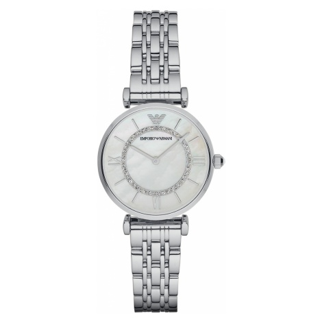 Zegarek EMPORIO ARMANI - Gianni T-Bar AR1908 Silver/Silver