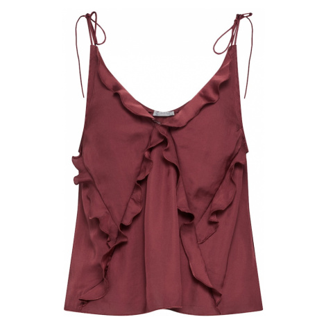 Free People Top 'COULD BE CAMI' bordowy