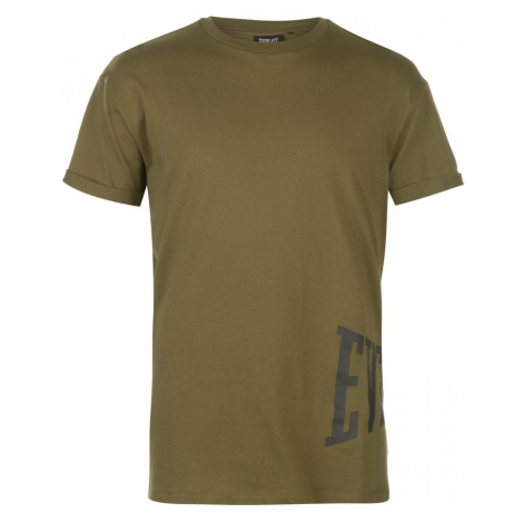 Everlast Logo Print T Shirt Mens