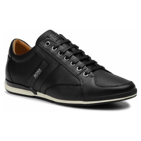 Sneakersy BOSS - Saturn 50417392 10208769 01 Black 002 Hugo Boss