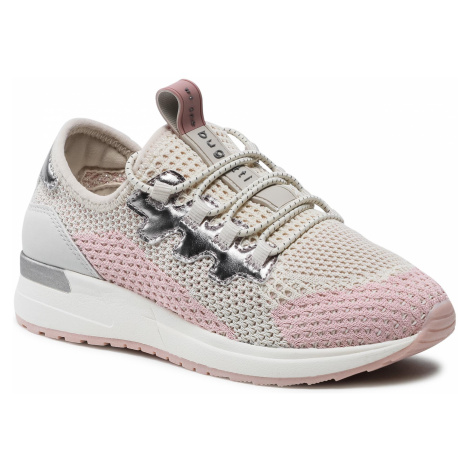 Sneakersy BUGATTI - 411-A2M61-6950-5234 Beige/Rose