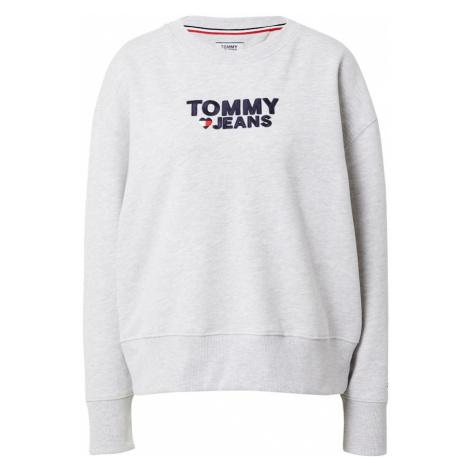 Tommy Jeans Bluzka sportowa czerwony / ciemny niebieski / nakrapiany szary Tommy Hilfiger