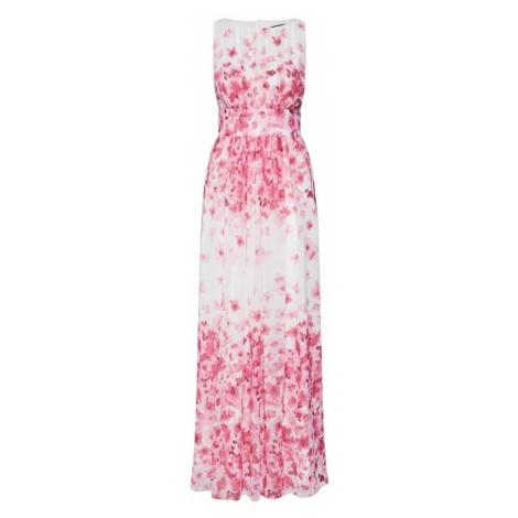 SWING Sukienka kremowy / purpurowy