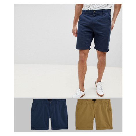 D-Struct Chino Shorts 2 Pack