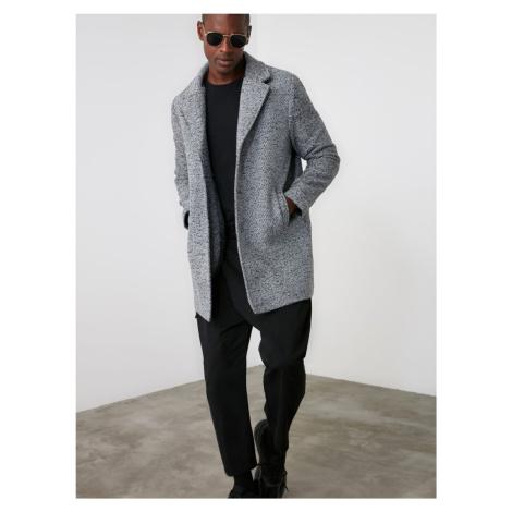 Trendyol jasno szary płaszcz męski